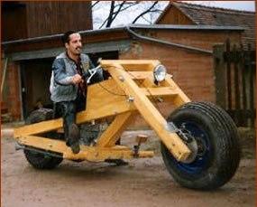Самодельный мотоцикл. Как сделать?