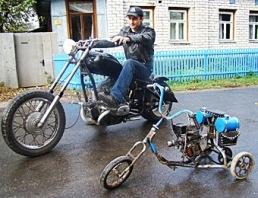 Мотоцикла своими руками