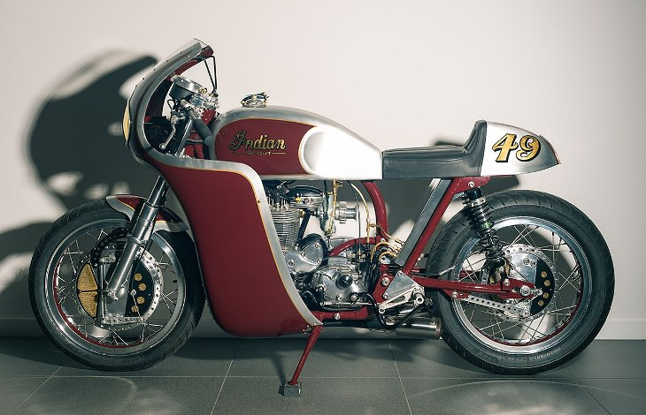 Реставрация мотоцикла Indian Continental Scout