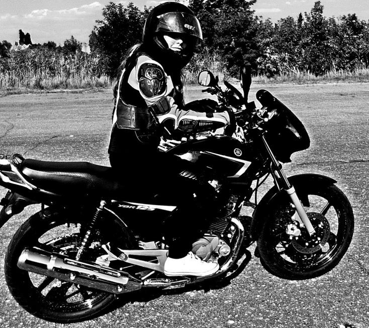 Фото парня с девушкой на мотоцикле на аву