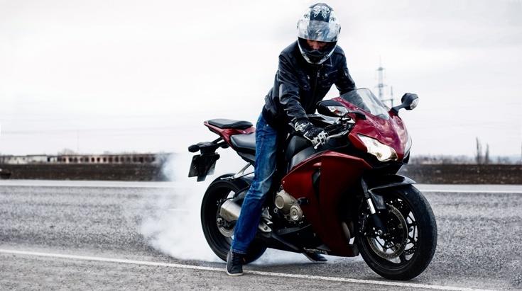 фото на аву мотоциклист