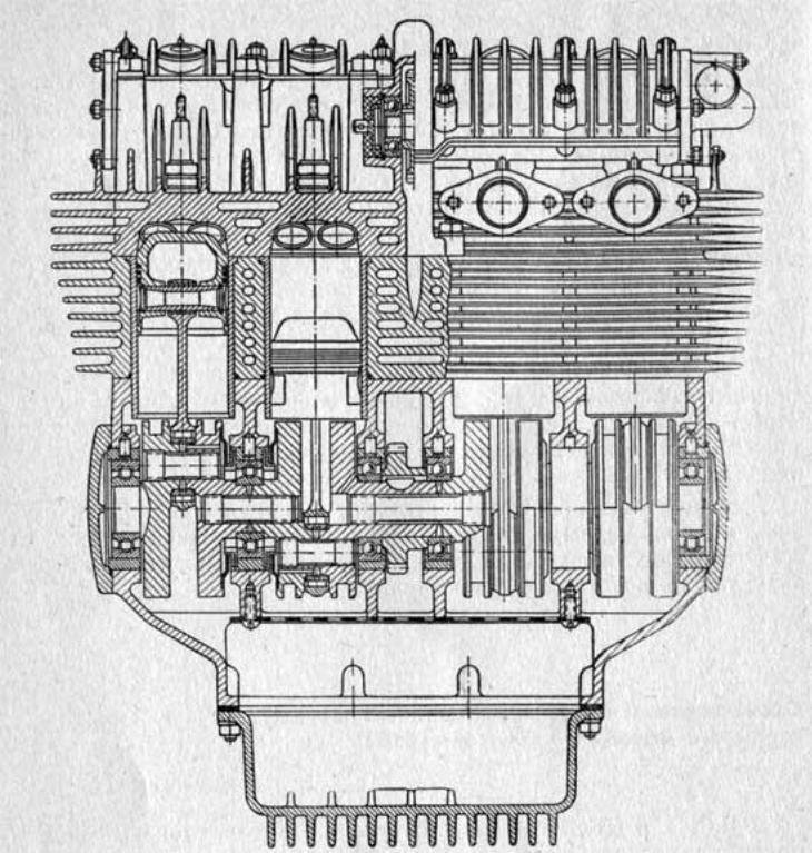 Схема двигателя мотоцикла