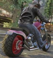 GTA 5 мотоцикл