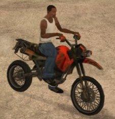 GTA San Andreas мотоцикл