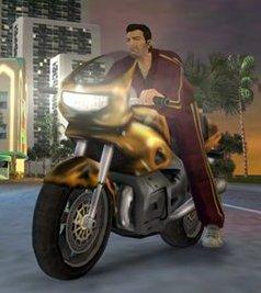 GTA Vice City мотоцикл