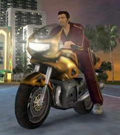 GTA Vice City мотоцикл