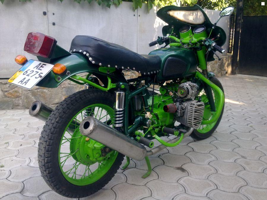 Тюнинг мотоцикла днепр своими руками 6