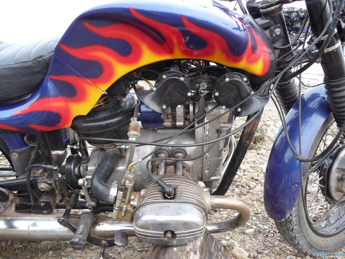 Тюнинг мотоцикла днепр своими руками 9
