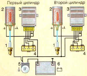 Минск схема подключения зажигания